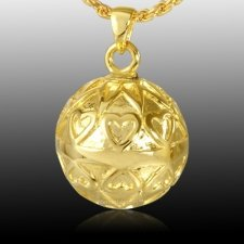 Bright Heart Cremation Pendant IV