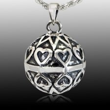 Bright Heart Cremation Pendant
