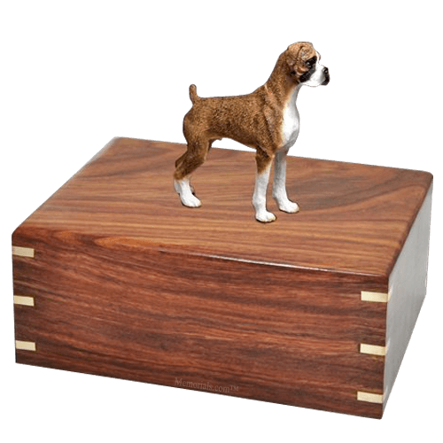 Brindle Boxer Doggy Urns