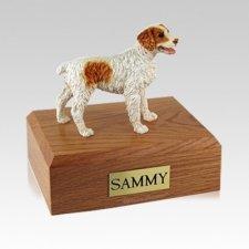 Brittany Brown Medium Dog Urn