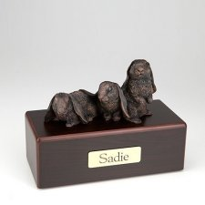 Bronze Bunnies Cremation Urns