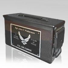 Bronze M2A1 Military Ammo Urn