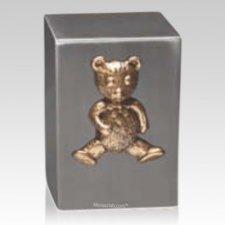 Bronze Teddy Child Urn