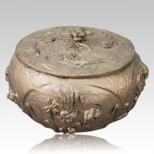 Garden Vessel Bronze Urn