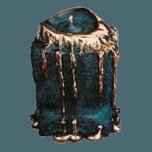 Luminaire Bronze Cremation Urn