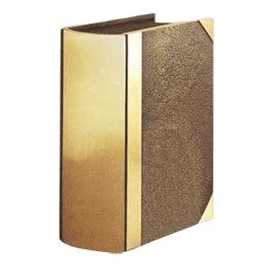 Morocco Book Bronze Cremation Urn