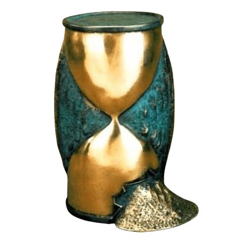 Tempus Bronze Cremation Urn