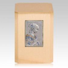 Madonna Bronze Cremation Urn