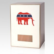Republican Bronze Cremation Urn