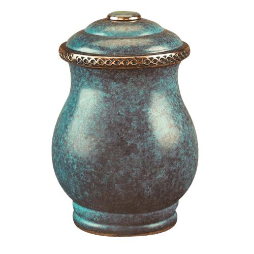 Venetian Bronze Cremation Urn