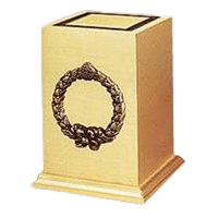 Victory Wreath Bronze Cremation Urns