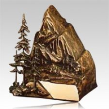 Wilderness Bronze Cremation Urn