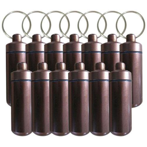 Brown Cremation Discount Keychains