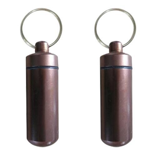 Brown Cremation Keychains