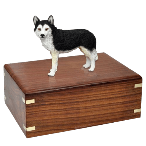 Brown Eyed Husky X-Large Doggy Urn