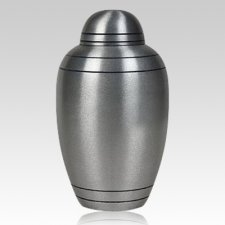 Brushed Alloy Classic Medium Urn