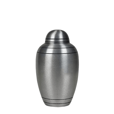 Brushed Alloy Classic Small Urn