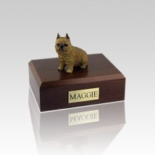Brussels Griffon Red Small Dog Urn