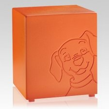 Buddy Orange Dog Urns