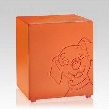 Buddy Orange Small Dog Urn