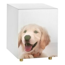 Lab Puppy Dog Cremation Urn