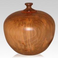 Buddy Wood Pet Cremation Urn