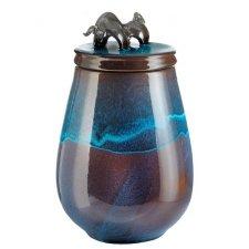 Bull Ceramic Cremation Urn