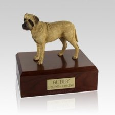 Bull Mastiff Standing Large Dog Urn