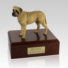 Bull Mastiff Standing X Large Dog Urn