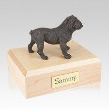 Bulldog Bronze Large Dog Urn