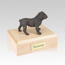 Bulldog Bronze Medium Dog Urn