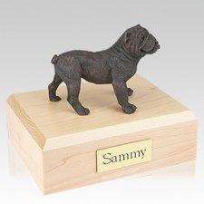 Bulldog Bronze X Large Dog Urn