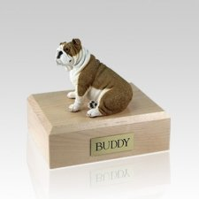 Bulldog Fawn Large Dog Urn