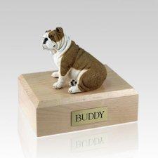 Bulldog Fawn X Large Dog Urn