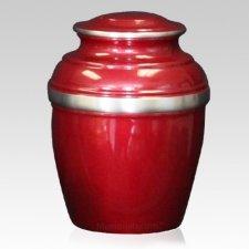 Burgundy Silverado Cremation Urn
