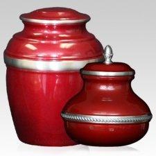 Burgundy Silverado Cremation Urns