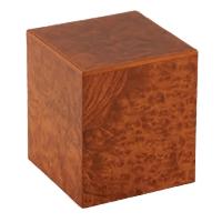 Burl Elm Wood Cremation Urn
