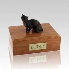 Burmese Himalayan Medium Cat Cremation Urn