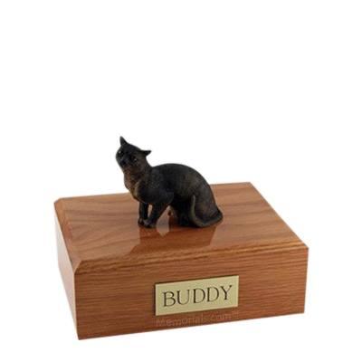 Burmese Himalayan Small Cat Cremation Urn