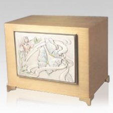 Butterfly Bronze Cremation Urn