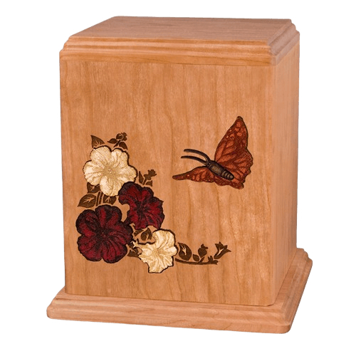 Butterfly Cremation Urn For Two