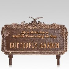 Butterfly Garden Dedication Plaque