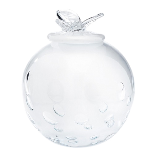Butterfly Glass Pet Urn