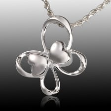 Butterfly Hearts Cremation Pendant