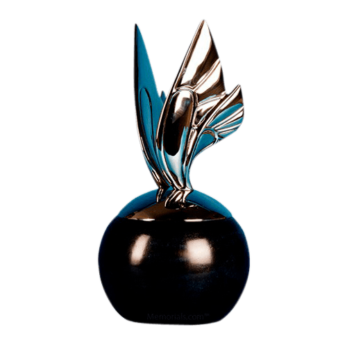 Black Butterfly Cremation Urn