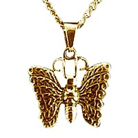 Heavenly Butterfly Cremation Pendant II