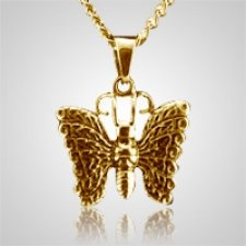 Heavenly Butterfly Cremation Pendant IV