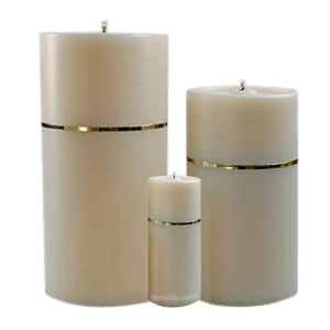 Candle Gold Cremation Urns