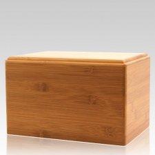 Bamboo Pet Eternity Large Wood Urn
