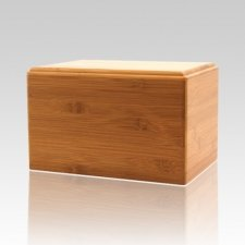 Bamboo Eternity Small Wood Urn